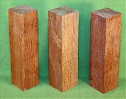 "Blank #715 - Jatoba Extra Long Solid Turning Blanks ~ 3 Each ~ 1 1/2"" x 1 1/2"" x 6"" ~ $10.99"